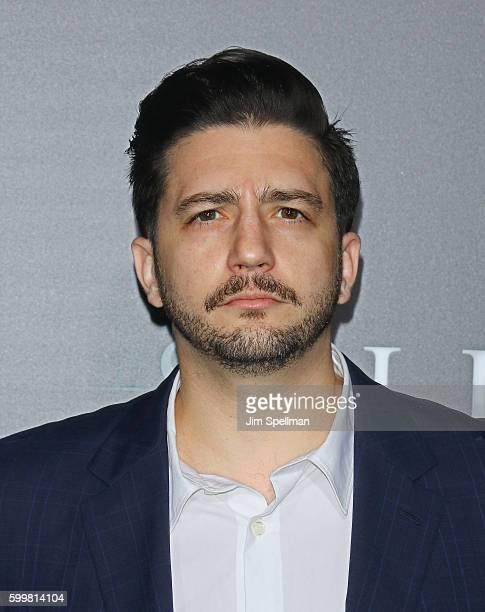 Actor John Magaro attends the Sully New York premiere at Alice Tully Hall Lincoln Center on September 6 2016 in New York City