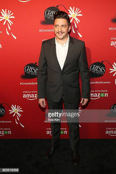 Actor John Magaro attends the world premiere of 'Crisis in Six Scenes' at the Crosby Street Hotel on September 15 2016 in New York City