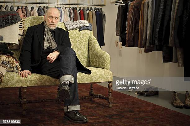 Actor John Malkovich is photographed for Self Assignment in 2010