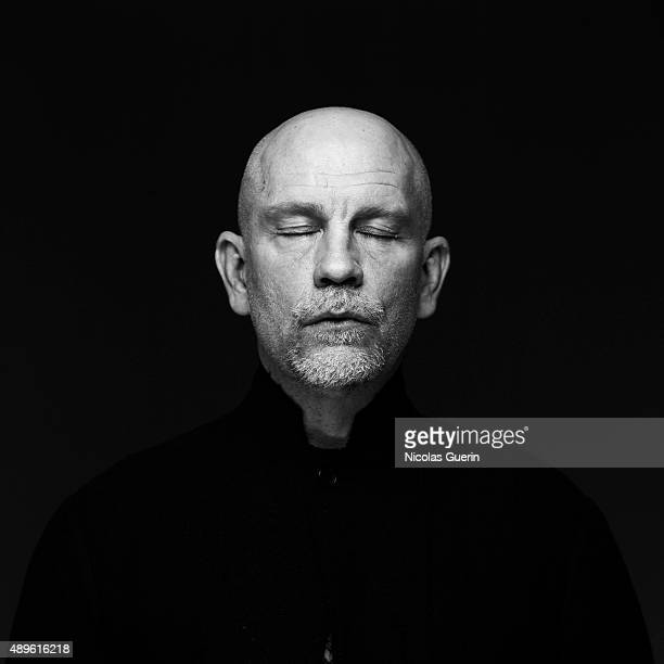 Actor John Malkovich is photographed for Self Assignment on November 29 2005 in Paris France