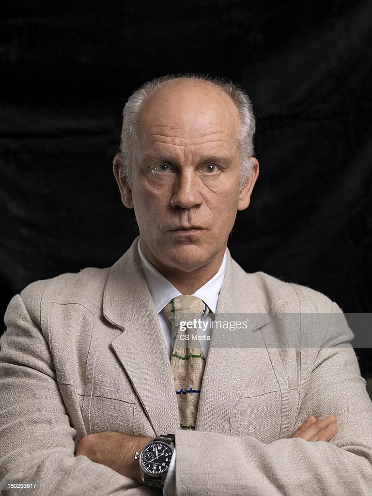 John Malkovich, Portrait shoot, September 5, 2009