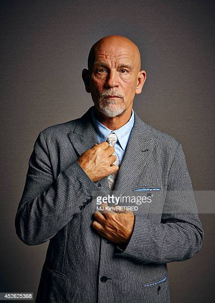 Actor John Malkovich poses for a portrait at Getty Images Portrait Studio powered by Samsung Galaxy at ComicCon International 2014 at Hard Rock Hotel...