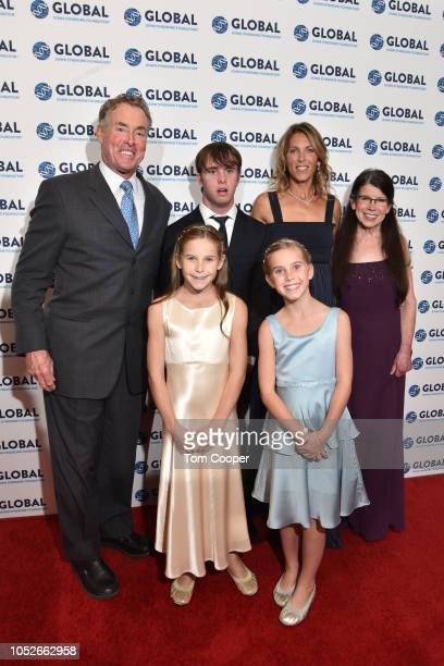 Actor John McGinley and family walk the runway at the Global Down Syndrome Foundation 10th anniversary BBBY fashion show at Sheraton Denver Downtown...