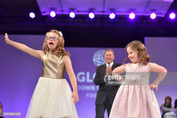 Actor John McGinley with Kate Winfield and Claire Hepburn walk the runway at the Global Down Syndrome Foundation 10th anniversary BBBY fashion show...