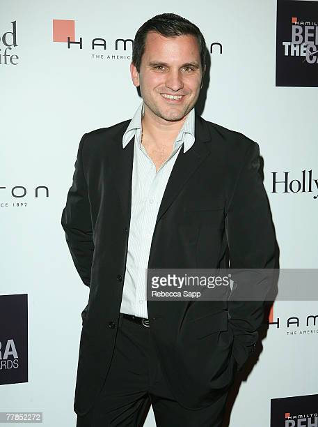 Actor John Michael Beck at the Hamilton Behind the Camera Awards Hosted by Hollywood Life at The Highlands on November 11 2007 in Hollywood California