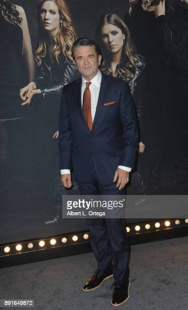 Actor John Michael Higgins arrives for the Premiere Of Universal Pictures' 'Pitch Perfect 3' held at The Dolby Theater on December 12 2017 in...