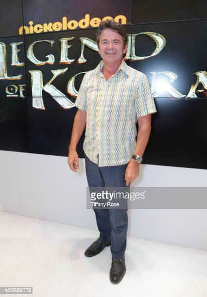 Actor John Michael Higgins attends the Legend of Korra signing at the 2014 San Diego ComicCon International Day 3 on July 25 2014 in San Diego...