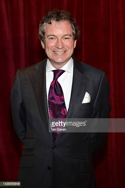 Actor John Middleton attends The 2012 British Soap Awards at ITV Studios on April 28 2012 in London England