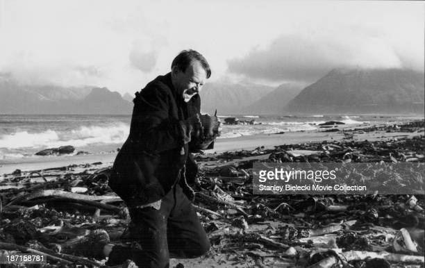 Actor John Mills in a scene from the movie 'Ryan's Daughter' 1970