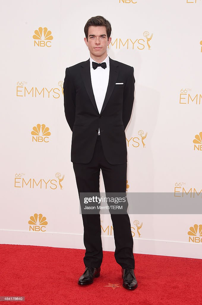 Actor John Mulaney attends the 66th Annual Primetime Emmy Awards held at Nokia Theatre L.A. Live on August 25, 2014 in Los Angeles, California.
