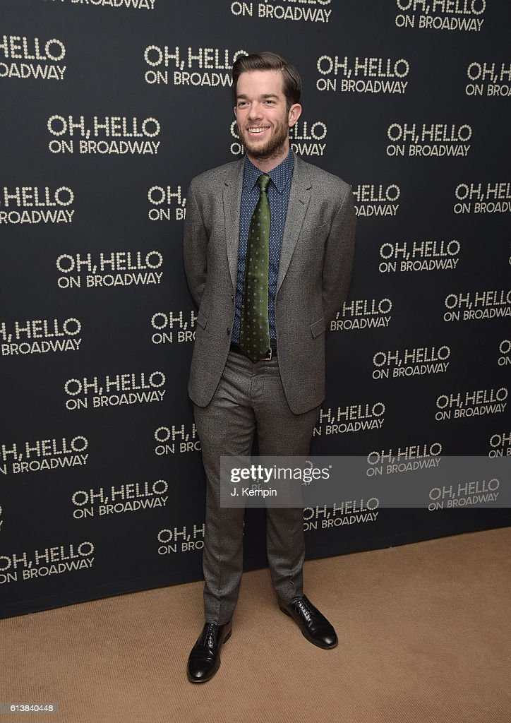 Actor John Mulaney attends the after party for 'Oh, Hello On Broadway' at Brasserie 8 1/2 on October 10, 2016 in New York City.