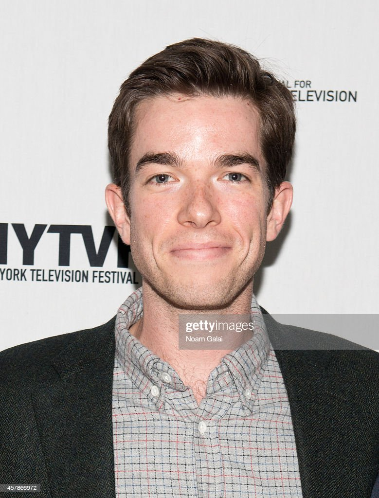 Actor John Mulaney attends the 'Mulaney On Mulaney: Or How I Learned to Stop Worrying and Love the Three-Camera Sitcom' during the 2014 New York Television Festival at SVA Theater on October 25, 2014 in New York City.