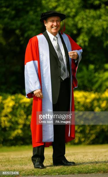 Actor John Nettles who has received the honorary degree of Doctor of the University from Southampton University
