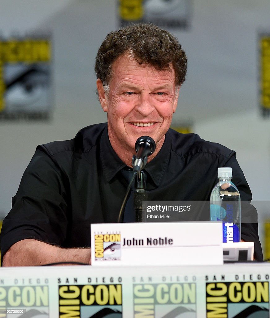 Actor John Noble attends the TV Guide Magazine: Fan Favorites panel during Comic-Con International 2014 at the San Diego Convention Center on July 26, 2014 in San Diego, California.