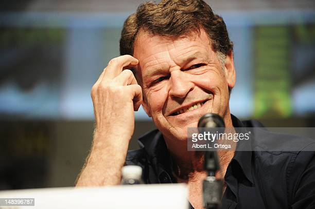 Actor John Noble speaks at Fringe Panel during ComicCon International 2012 at San Diego Convention Center on July 15 2012 in San Diego California