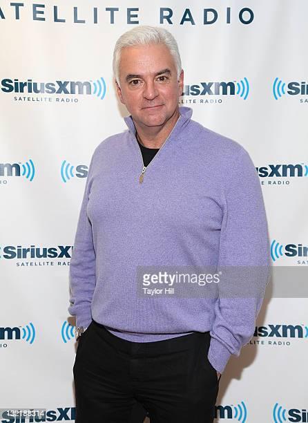 "Actor John O'Hurley, host of TV Guide Network's ""25 Most Memorable Infomercials"" visits SiriusXM Studio on November 10, 2011 in New York City."
