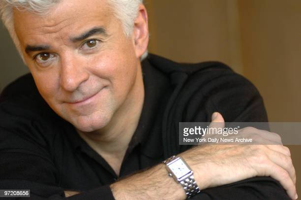 Actor John O'Hurley relaxes at the Phillips Club on W 66th St The 51yearold actor who is best known for his role as kooky catalog king J Peterman on...
