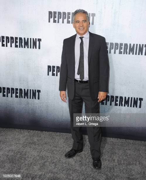 Actor John Ortiz arrives for the Premiere Of STX Entertainment's Peppermint held at Stadium 14 on August 28 2018 in Los Angeles California
