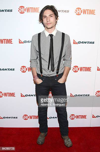 Actor John Patrick Amedori arrives at the premiere of Showtime's 'United States of Tara' at the DGA Theater on January 12 2009 in Los Angeles...