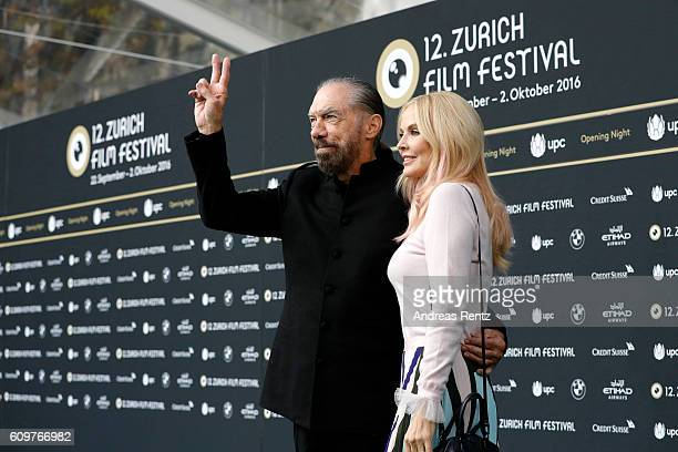 Actor John Paul DeJoria of the movie 'Good Fortune' and his wife Eloise Broady attend the 'Lion' premiere and opening ceremony of the 12th Zurich...