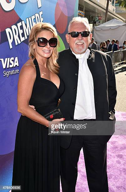 Actor John Ratzenberger and Julie Blichfeldt attend the Los Angeles premiere of DisneyPixar's Inside Out at the El Capitan Theatre on June 8 2015 in...