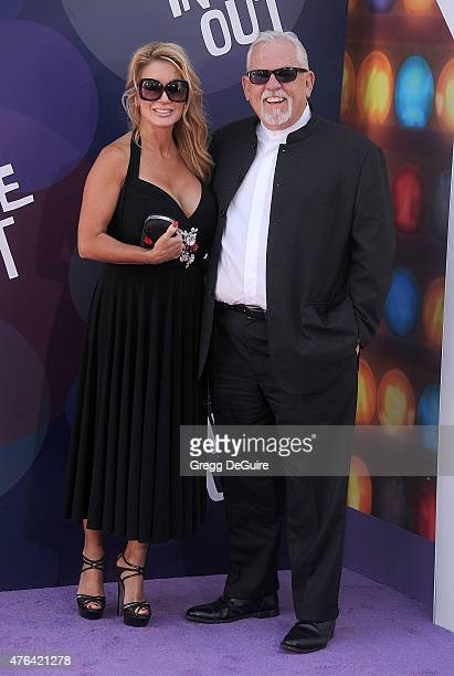 Actor John Ratzenberger and wife Julie Blichfeldt arrive at the Los Angeles premiere of Disney/Pixar's Inside Out at the El Capitan Theatre on June 8...