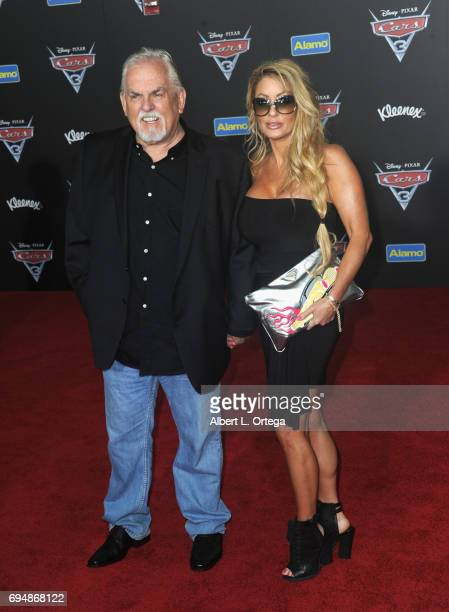 Actor John Ratzenberger and wife Julie Blichfeldt arrive for the Premiere Of Disney And Pixar's Cars 3 held at Anaheim Convention Center on June 10...