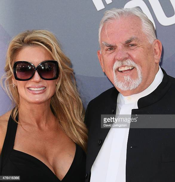 Actor John Ratzenberger and wife Julie Blichfeldt attend the premiere of DisneyPixar's Inside Out at the El Capitan Theatre on June 8 2015 in...