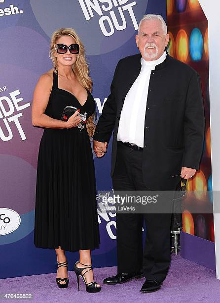 Actor John Ratzenberger and wife Julie Blichfeldt attend the premiere of Inside Out at the El Capitan Theatre on June 8 2015 in Hollywood California