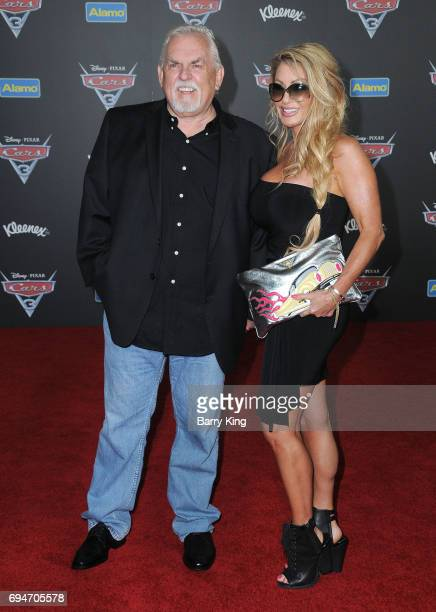 Actor John Ratzenberger and wife Julie Blichfeldt attend the World Premiere of Disney and Pixar's 'Cars 3' at Anaheim Convention Center on June 10...