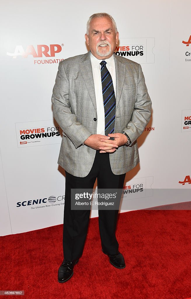 Actor John Ratzenberger arrives to AARP The Magazine's 14th Annual Movies For Grownups Awards Gala at the Beverly Wilshire Four Seasons Hotel on February 2, 2015 in Beverly Hills, California.