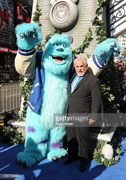Actor John Ratzenberger attends the world premiere of Disney Pixar's Monsters University at the El Capitan Theatre on June 17 2013 in Hollywood...