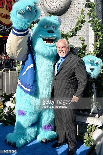 Actor John Ratzenberger attends The World Premiere Tailgate Party for DisneyPixar's Monsters University at the El Capitan Theatre on June 17 2013 in...