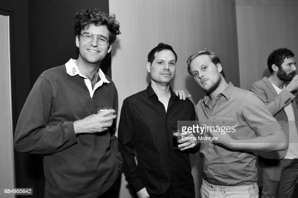 Actor John Reynolds, moderator/comedian Michael Ian Black, and actor John Early attend the 'Search Party' ATAS event at Saban Media Center on May 18,...