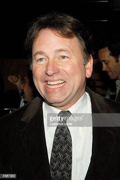 Actor John Ritter attends the afterparty for opening night of Woody Allen's new play Writers Block at Metronome on May 15 2003 in New York City...