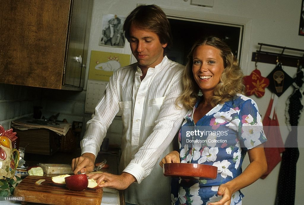 John Ritter Nancy Ritter On Cooking With The Stars : News Photo
