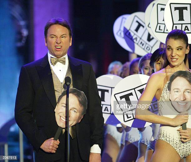 Actor John Ritter performs during the TV Land Awards 2003 at the Hollywood Palladium on March 2 2003 in Hollywood California