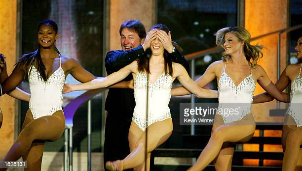 Actor John Ritter performs on stage during the TV Land Awards 2003 at the Hollywood Palladium on March 2 2003 in Hollywood California