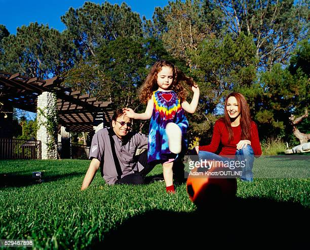 actor john ritter with family - stella ritter stock pictures, royalty-free photos & images