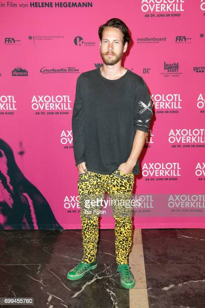 US actor John Robinson attends the 'Axolotl Overkill' Berlin Premiere at Volksbuehne RosaLuxemburgPlatz on June 21 2017 in Berlin Germany