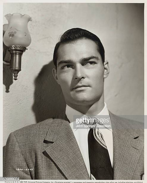 Actor John Russell plays Cash Brady in the 1949 film The Story of Molly X