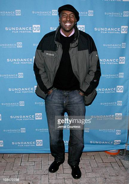 Actor John Salley attends the premiere of Black Dynamite during the 2009 Sundance Film Festival at Library Center Theatre on January 18 2009