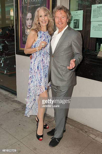 "Actor John Savage and writer Joycelyn Engle arrives at the Los Angeles premiere of ""Awakened"" hosted at the Laemmle Music Hall on March 30, 2014 in..."