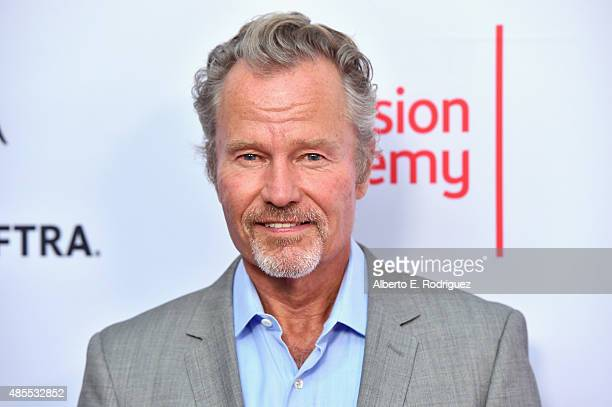 Actor John Savage attends a cocktail party celebrating dynamic and diverse nominees for the 67th Emmy Awards hosted by the Academy of Television Arts...