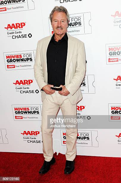 Actor John Savage attends AARP's Movie For GrownUps Awards at the Beverly Wilshire Four Seasons Hotel on February 8 2016 in Beverly Hills California