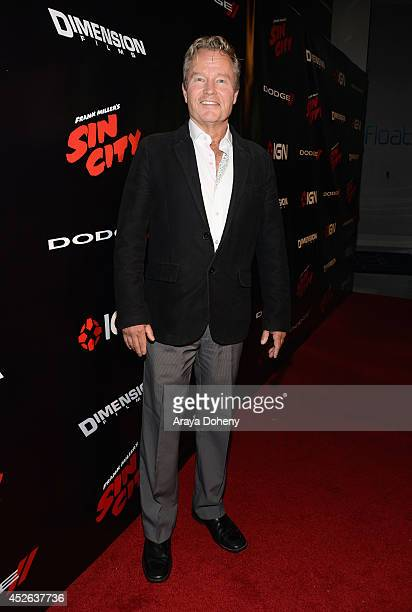 Actor John Savage attends IGN Sin City A Dame to Kill For ComicCon International Party during ComicCon International 2014 at Hard Rock Hotel San...