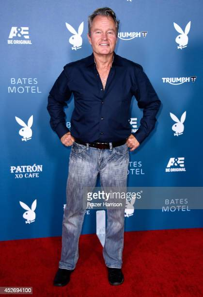 Actor John Savage attends Playboy and AE 'Bates Motel' Event during ComicCon International 2014 on July 25 2014 in San Diego California