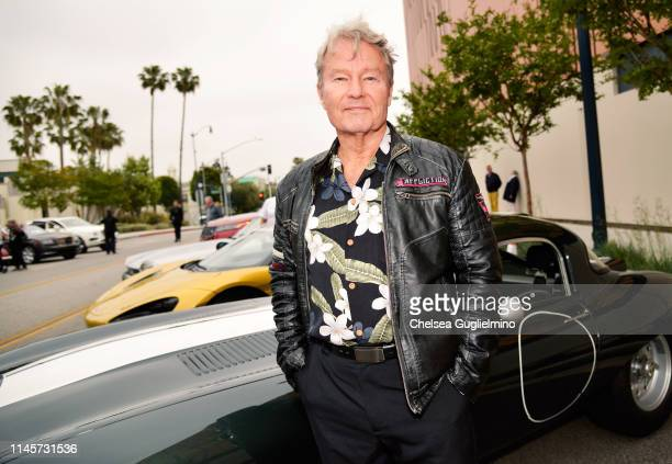 Actor John Savage attends the 2019 BritWeek Car Rally on April 28 2019 in Beverly Hills California