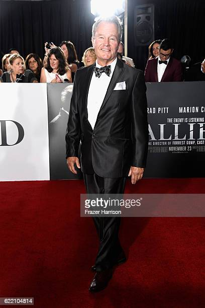 Actor John Savage attends the fan event for Paramount Pictures' 'Allied' at Regency Village Theatre on November 9 2016 in Westwood California