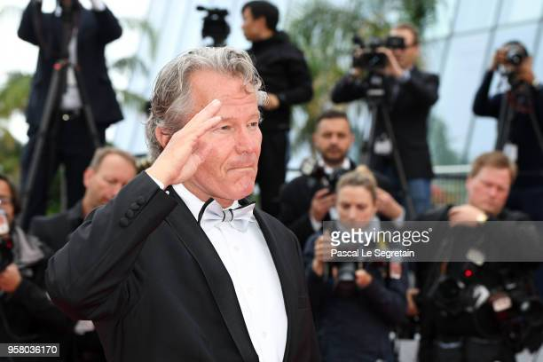 Actor John Savage attends the screening of Happy As Lazzaro during the 71st annual Cannes Film Festival at Palais des Festivals on May 13 2018 in...
